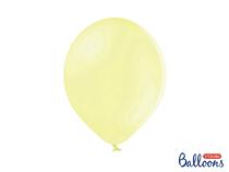 "PartyDeco Pastel Light Yellow 12"" (30cm) Latex Balloons 50pk"