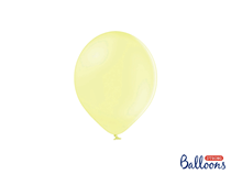 "PartyDeco Pastel Light Yellow 5"" (12cm) Latex Balloons 100pk"