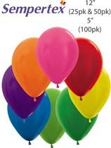 Sempertex Metallic Assorted Colour Latex Balloons