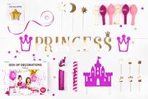 Princess Party Decoration Kit 31pce