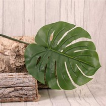 Real Touch Large Philodendron Leaf Spray