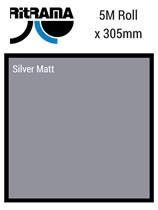 Ritrama Silver Matt Vinyl 305mm x 5M