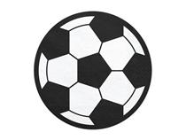 Football Shaped Party Napkins 20pk