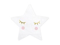 Little Star Smiling Eyelashes 16cm Napkins 20pk