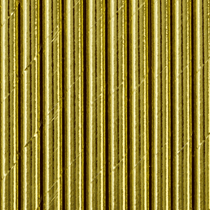 Gold Paper Straws 10pk