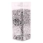 Silver Pebbles In Jar 4-6mm 750grams