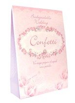 Traditional Rose Paper Wedding Confetti 10g