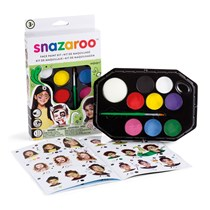 Snazaroo face painting kit with instructions
