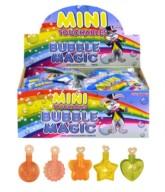 Mini Shaped Bubbles Bottles - 48pk