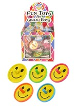 Smiley Spinning Tops 60pk