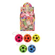 Assorted Football Yo-Yo's Party Bag Fillers 72p