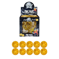 Gold Pirate Coins 84pk