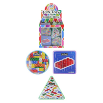 Assorted Brickz Puzzle Mazes 96pk