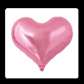"""Metallic Pink 25"""" Jelly Heart Foil Balloon"""