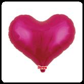 """Metallic Magenta 25"""" Jelly Foil Balloon"""