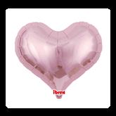 """Metallic Light Pink 25"""" Jelly Foil Balloon"""