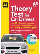 AA Theory Test for Car Drivers Book