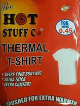 Large White Thermal T-Shirt