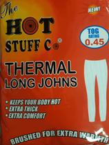 Medium White Thermal Long Johns