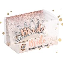 Rose Gold Bride Tiara