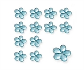 Aqua Wedding Flower Diamantes 28gm