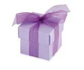Lilac Favour Boxes 10pk