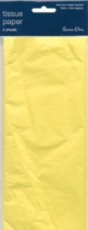 Yellow Tissue Paper 5 sheets