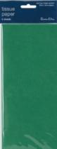 Dark Green Tissue Paper 5 sheets