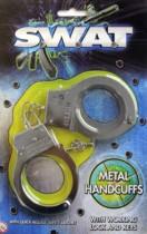 Swat Academy Metal Handcuff Toy