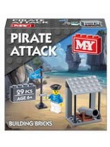 Pirate Attack Building Bricks 29pc