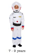 Children's Astronaut Fancy Dress Costume 7 - 9 yrs