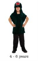 Children's Crocodile Fancy Dress Costume 4 - 6 yrs