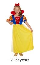 Child Snow Girl Book Day Fancy Dress Costume 7 - 9 yrs