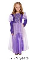 Children's Rapunzel Princess Book Day Fancy Dress Costume 7 - 9 yrs