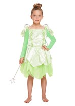 Children's Green Fairy Fancy Dress Costume Ages 4 - 9 yrs