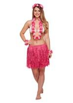 Hawaiian Girl 5 Piece Set - Pink