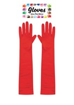 Hen Party Red Long Sleeve Gloves