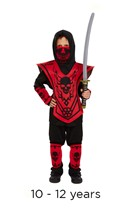Children's Ninja Fancy Dress Costume 10 - 12 years