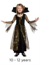 Child Halloween Spiderella Fancy Dress Costume 10 - 12 years