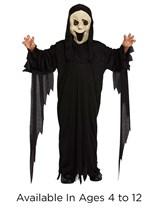 Children's Halloween Demon Ghost Fancy Dress Costume