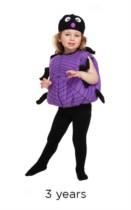 Halloween Spider Fancy Dress Costume - Toddler
