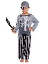 Child Halloween Zombie Pirate Fancy Dress Costume Ages 4 - 12