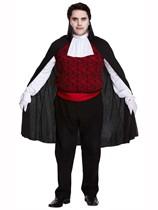 Adult Halloween Vampire Costume - Plus Size