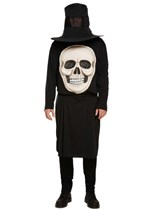Adult Halloween Jumbo Skull Fancy Dress Costume