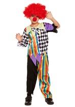 Children's Halloween Clown Costume Ages 4 - 12