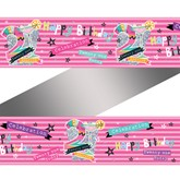 Pink 21st Birthday Holographic Foil Banner