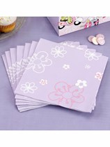 Scooter Girls Luncheon Napkins 20pk