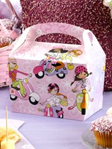 Scooter Girls Party Lunch Boxes 8pk