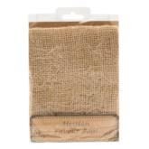Hessian Favour Bags 4pk