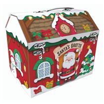 Christmas Grotto Santa's House Gift box